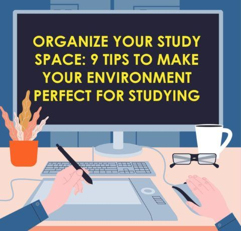 Organize Your Study Space 9 Tips To Make Your Environment Perfect For Studying