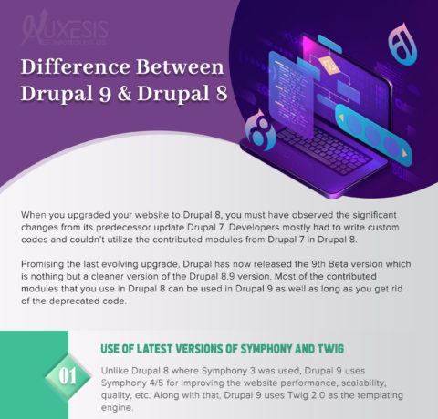 How Different Is Drupal 9 From Its Predecessor Drupal 8?