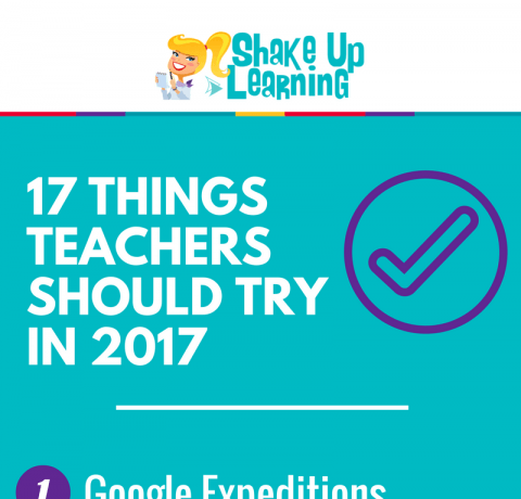 17 Challenges for Teachers in 2017 Infographic