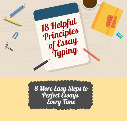 18 Helpful Principles of Essay Writing Infographic