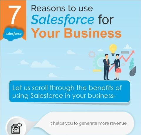 7 Reasons To Use Salesforce For Your Business - Infographic