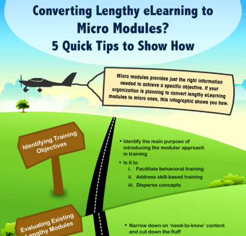 Converting Lengthy eLearning To Micro Modules? 5 Quick Tips To Show How
