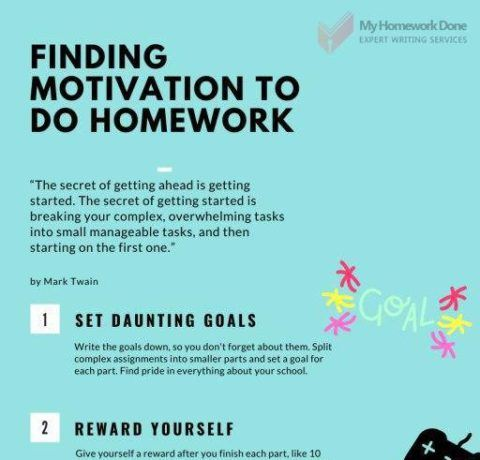 8 Effective Ways To Get Motivated To Do Homework
