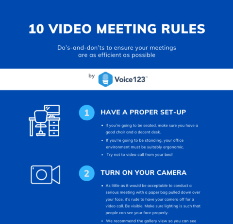 10 Video Meeting Rules To Ensure An Efficient Virtual Meeting