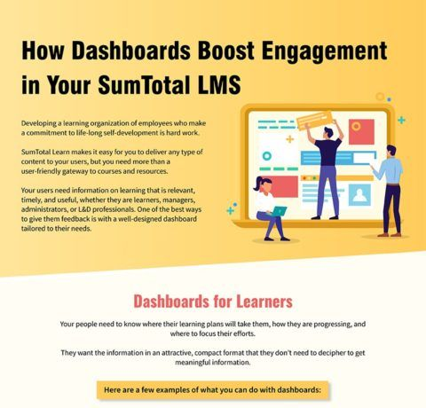 How Dashboards Boost Engagement In Your SumTotal LMS