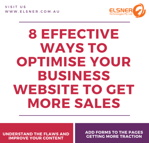 8 Effective Ways To Optimize Your Business Website To Get More Sales