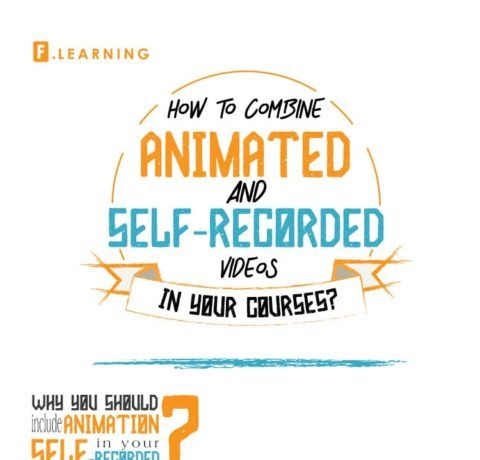 How To Combine Animated And Self-Recorded Videos In Your Courses