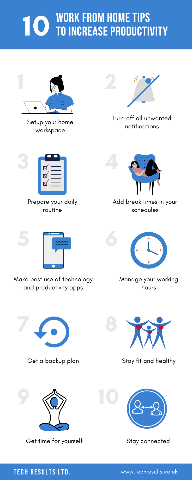 10 Work From Home Tips To Increase Productivity