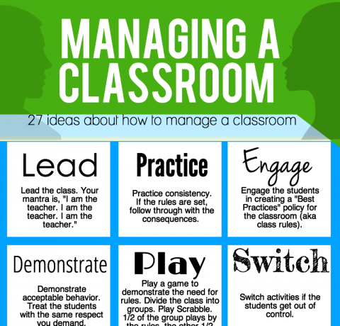 27 Tips for Effective Classroom Management Infographic - e-Learning Infographics