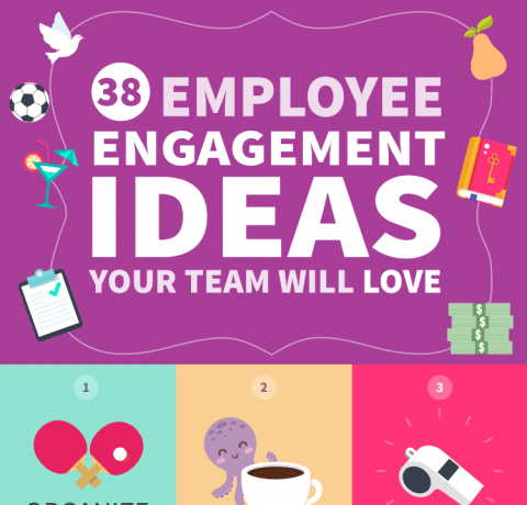 38 Employee Engagement Ideas Your Team Will Love Infographic