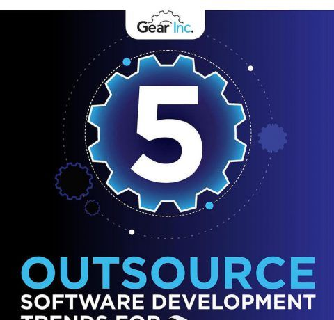 5 Outsource Software Development Trends For 2018 Infographic