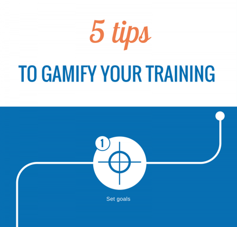 5 Tips to Gamify Your Training Infographic