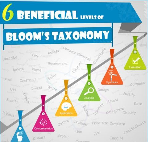 The 6 Levels of Bloom's Taxonomy Infographic