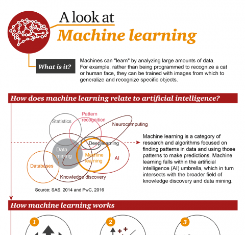A Look at Machine Learning Infographic