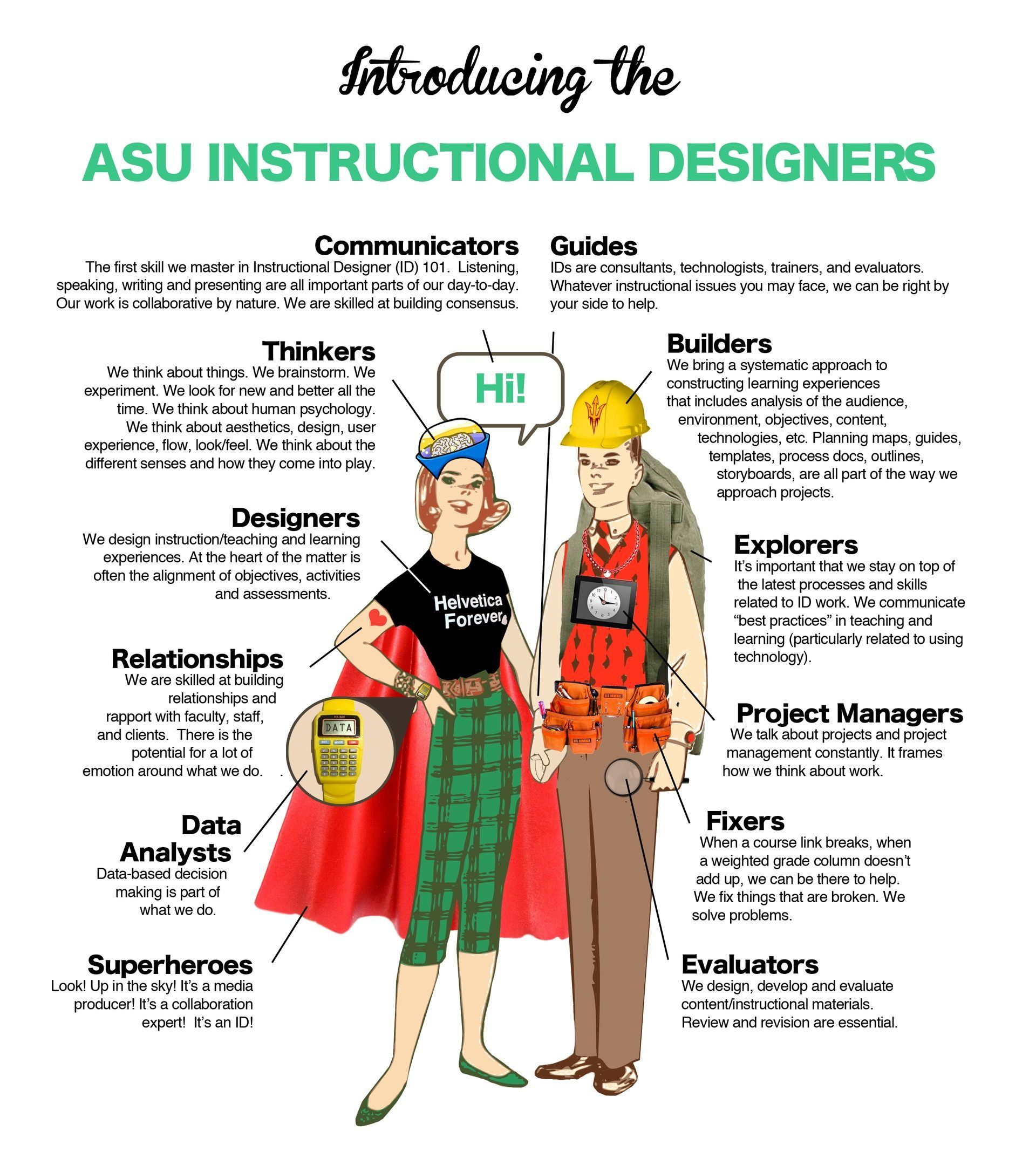 ASU Instructional Designers Infographic