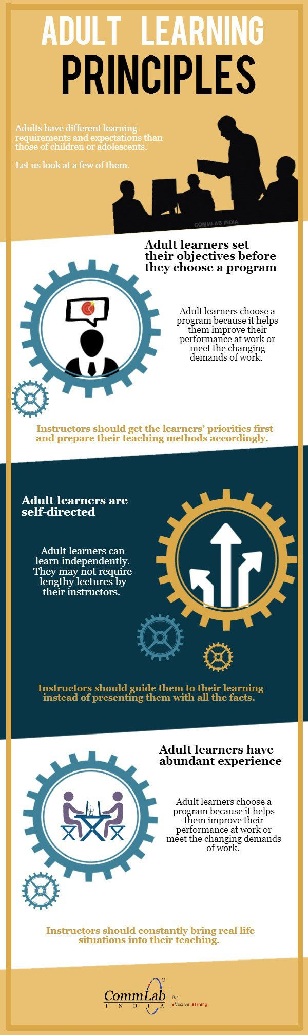 Adult Learning Principles Infographic