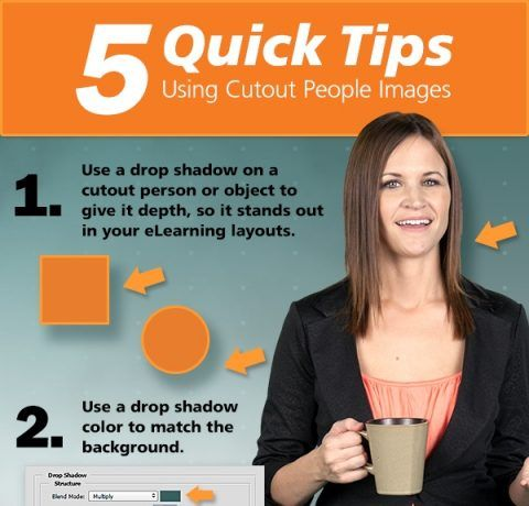 5 Tips For Using Cutout People Images Infographic