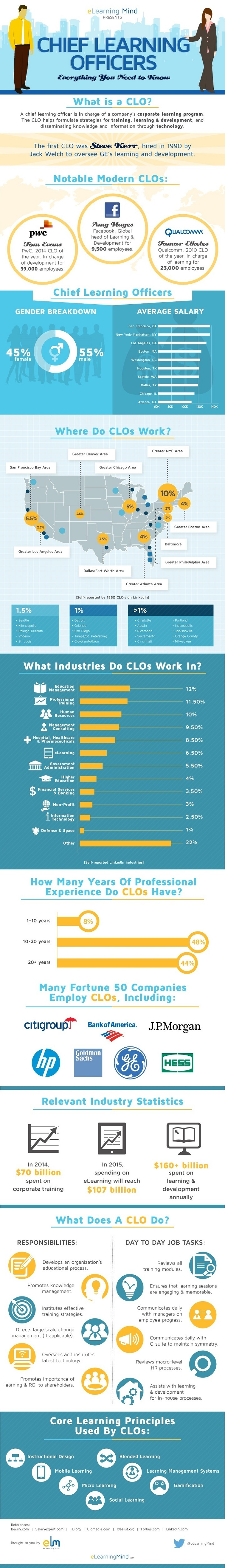 Chief Learning Officers Infographic
