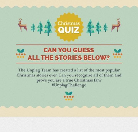 Christmas Story Quiz Infographic