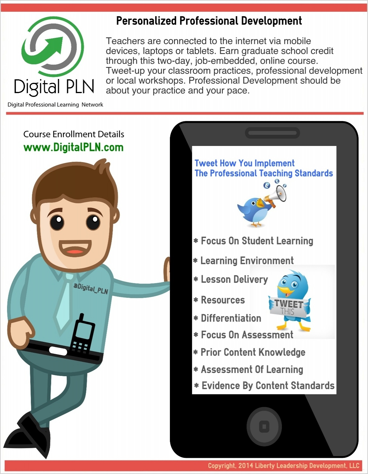 Personalized Professional Development Infographic