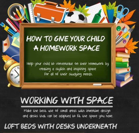 Giving Your Child the Perfect Homework Station Infographic