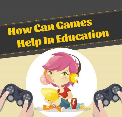 How Can Games Help in Education Infographic