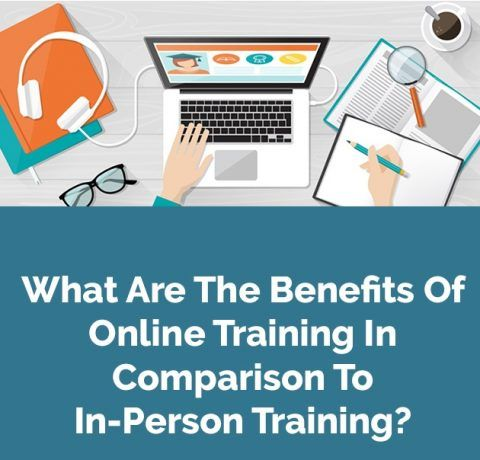 What Are The Benefits Of Online Training In Comparison To In-Person Training? Infographic