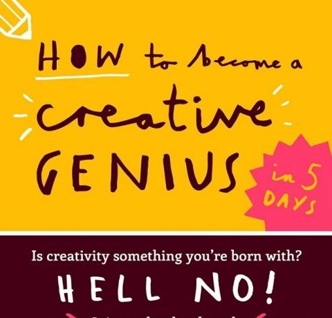 How to Become a Creative Genius Infographic