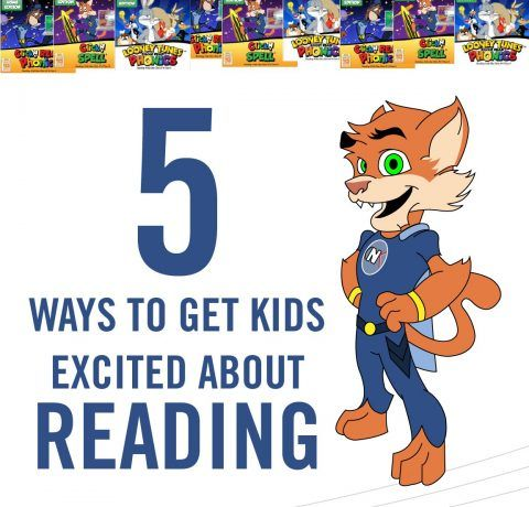 How to Get Kids Excited about Reading Infographic