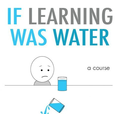 If Learning Was Water Infographic