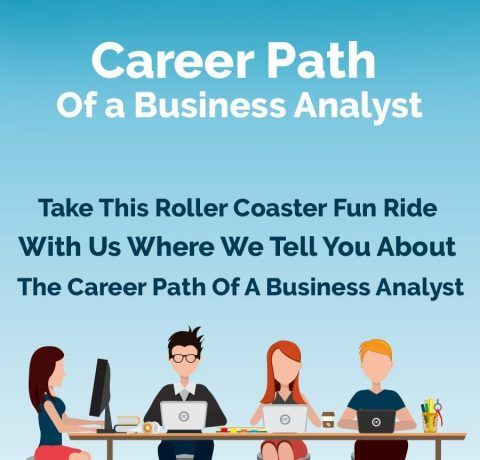 The Future Career Path And The Scope Of A Business Analyst Infographic