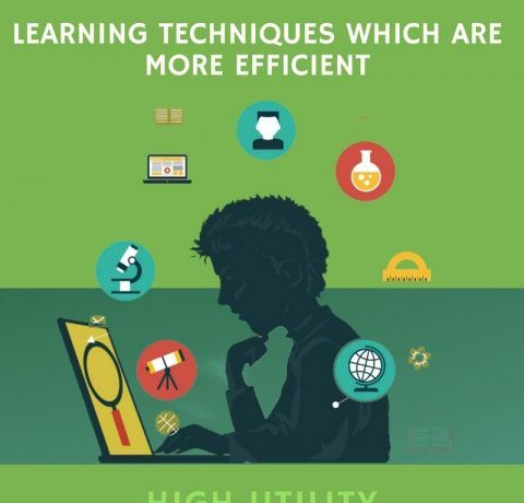 Learning Techniques Which Are More Efficient Infographic