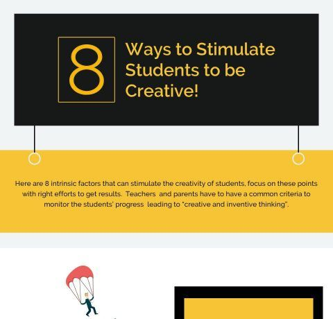 8 Ways to Stimulate Students to Be Creative Infographic