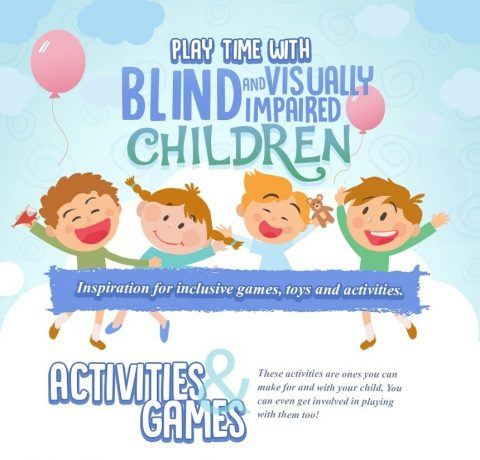 Playtime With Blind and Visually Impaired Children Infographic