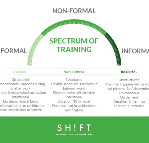 Spectrum of Training Techniques Infographic