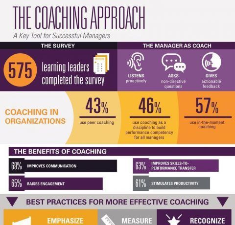 The Coaching Approach Infographic