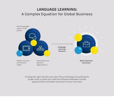 The Formula for Language Learning Success Infographic