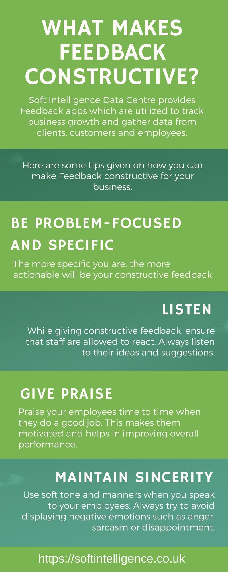 Understanding What My Staff Think, Staff Feedback Infographic