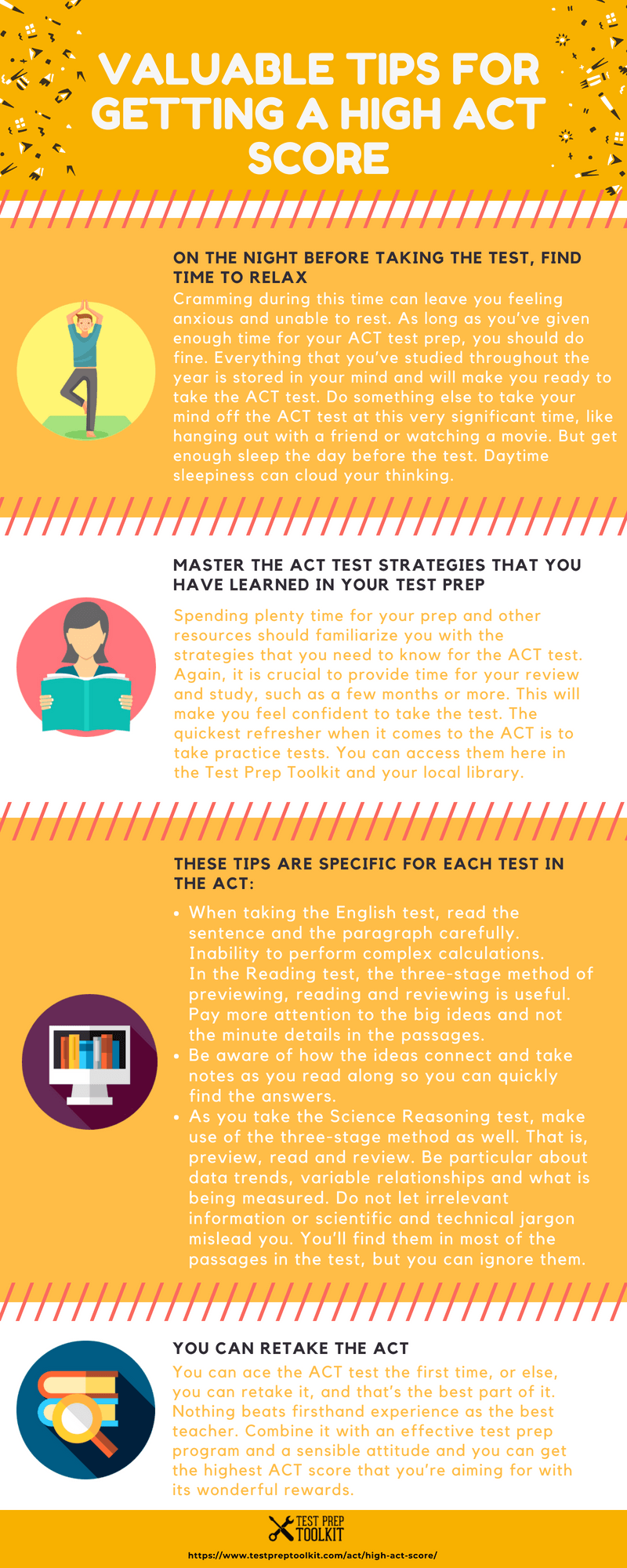 The Rewards Of Having A High ACT Score Infographic