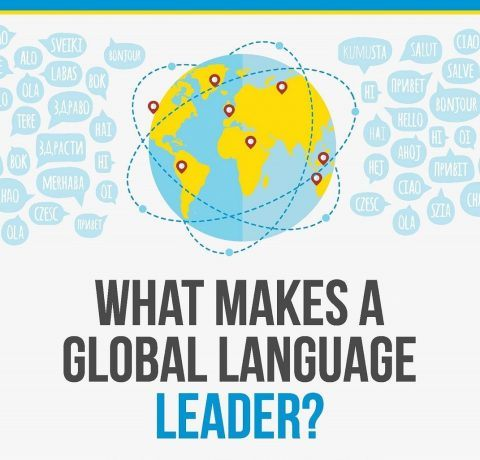 What Makes A Global Language Leader Infographic