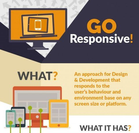 Why Use Responsive Web Design Infographic
