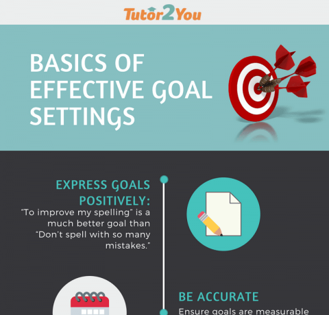 6 Basics Of Effective Goal Settings Infographic