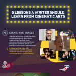 5 Writing Lessons from Cinema Infographic