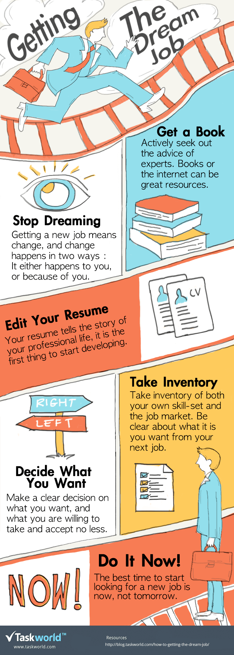 Getting The Dream Job Infographic