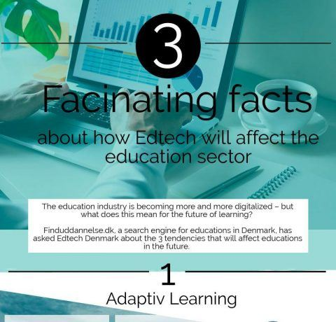 3 Fascinating Facts About How Edtech Will Affect The Education Sector Infographic
