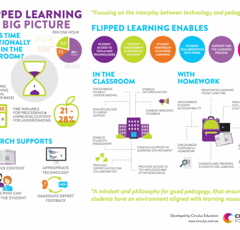 Flipped Learning: The Big Picture Infographic