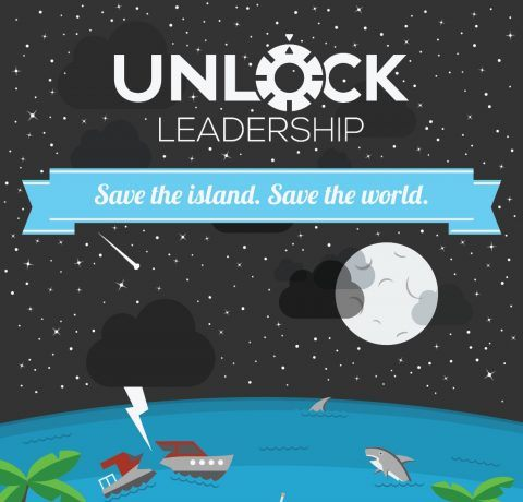 Unlocking Leadership With A Game Infographic