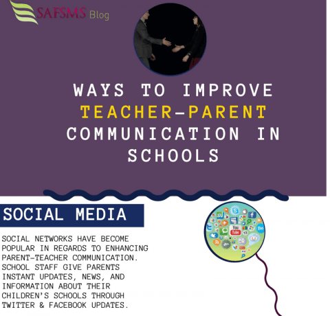 5 Tips For Improved Teacher-Parent Communication Infographic
