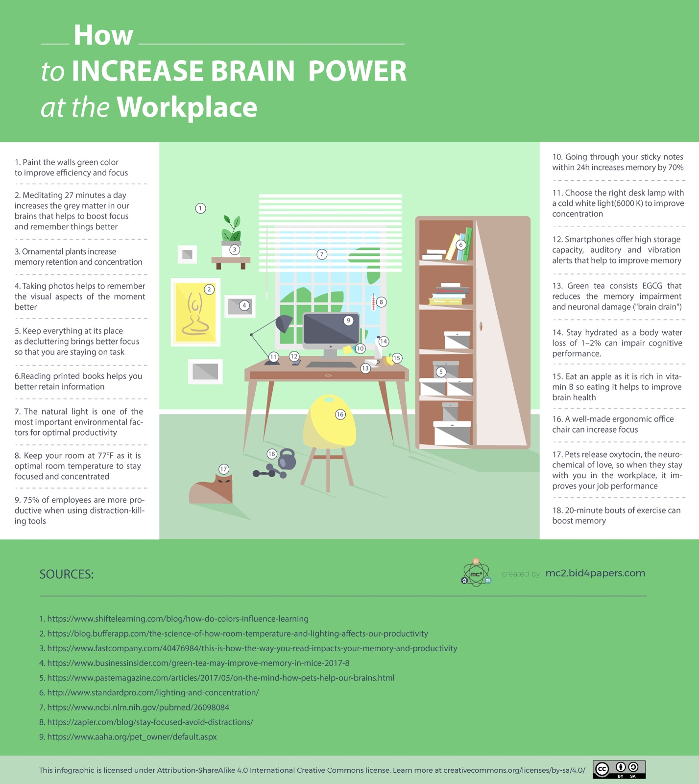 How To Increase Brain Power At The Workplace