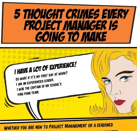 5 Project Management Thoughtcrimes Infographic